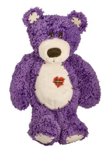 Soft Cuddly Purple Teddy Bear - bought one of these for one of my sister-in-laws for her bday last year. She loves purple too. :)