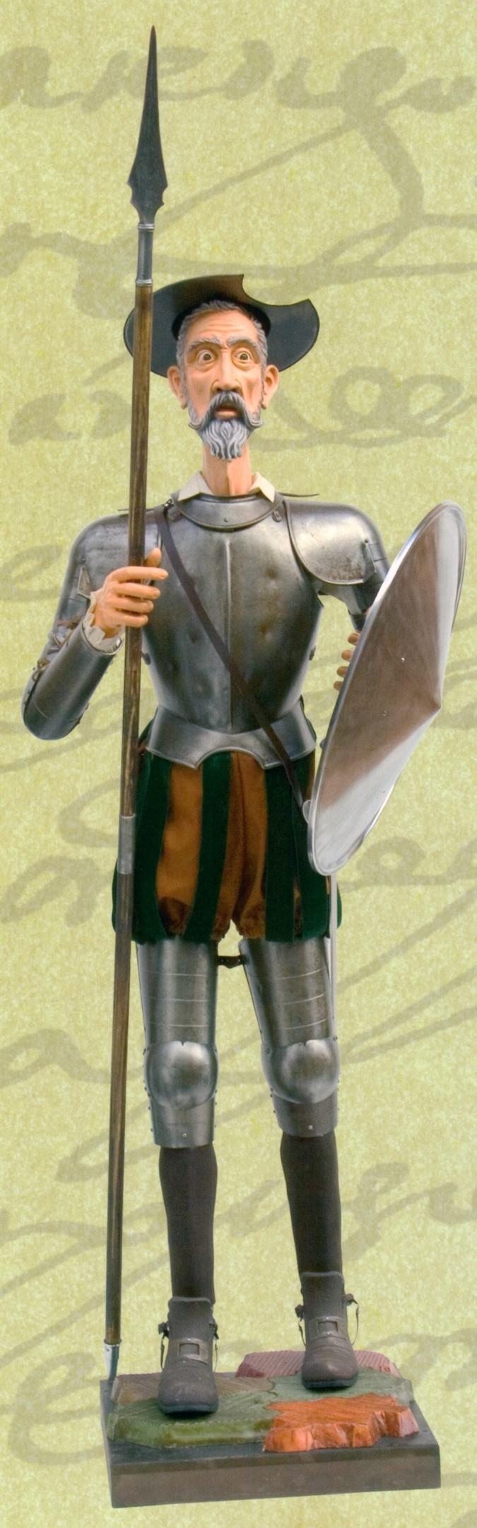Armadura de Don Quijote por el IV Centenario de la publicación de esta novela