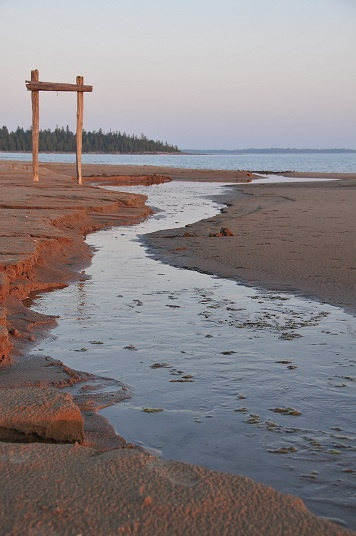 Carter Bay on Manitoulin Island in Canada.