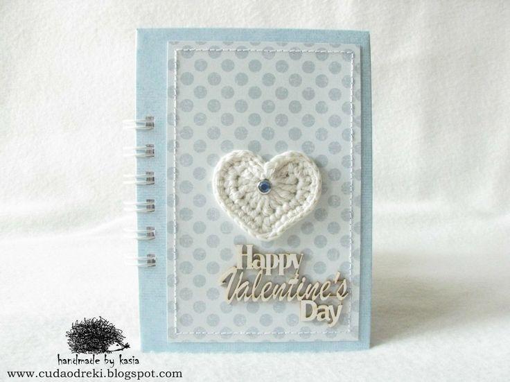 valentine's day - notebook, notes proj.  cuda od ręki