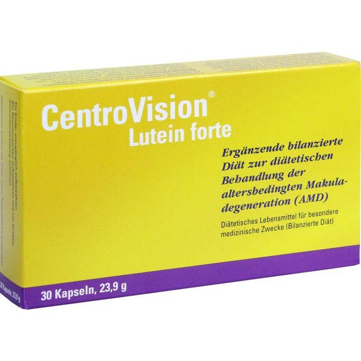 CENTROVISION Lutein forte Omega 3 Kapseln:   Packungsinhalt: 30 St Kapseln PZN: 06722869 Hersteller: OmniVision GmbH Preis: 10,20 EUR…
