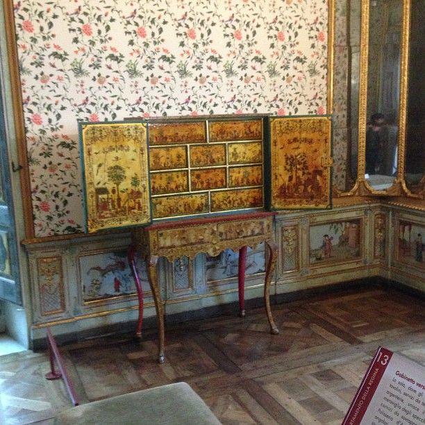 Villa della Regina interior detail, Torino, Italy