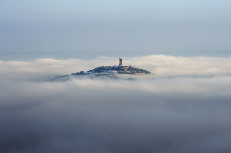 Because we have castles in the clouds. | 57 Reasons Living In Yorkshire Ruins You For Life
