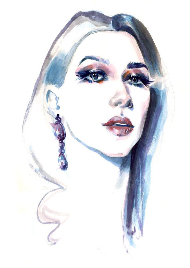 Diana Enciu | Fashion Illustration | Fabulous Muses | Sinestezic