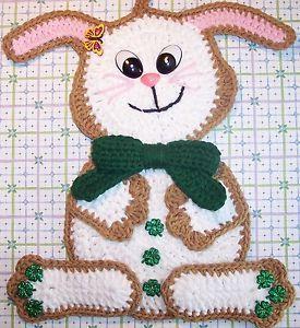 Crochet Bunny Rabbit Made by Linda K Weddle