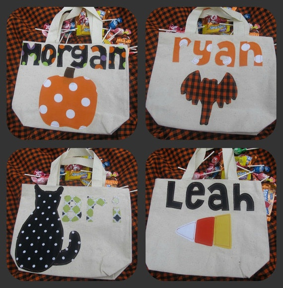 DIY project for today...Halloween candy bags