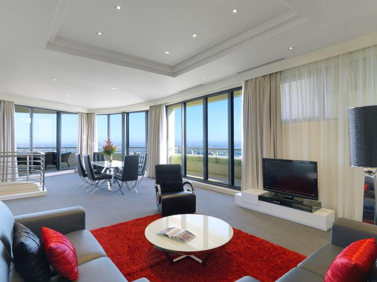 3 Bedroom #Penthouse Apartment #Meriton #Luxury #Hotel #Sydney #Kent Street