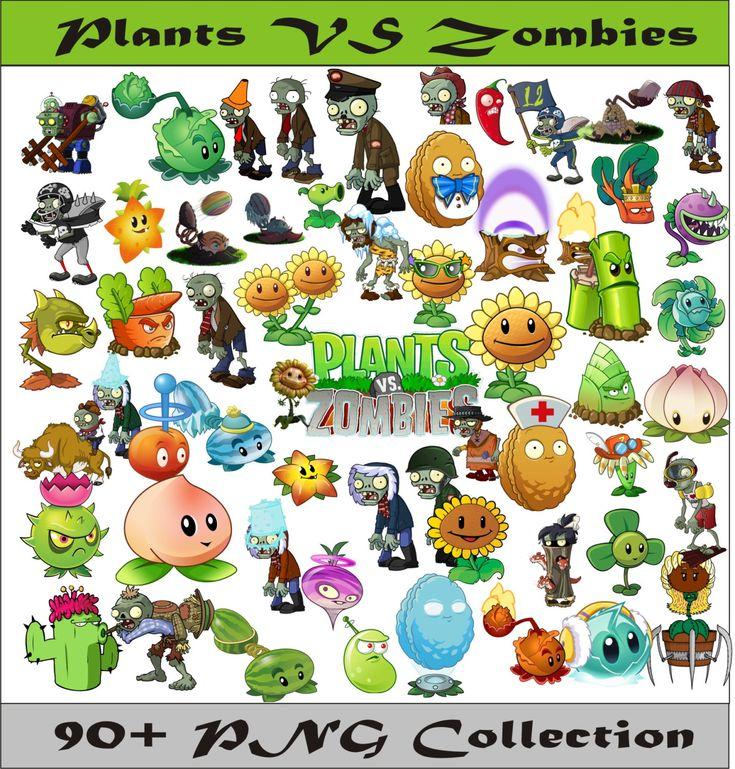 Plants VS Zombies PNG Vector Instant Download PNG Disney