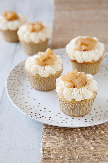 Pear Vanilla Bean Cupcakes | Annie's Eats by annieseats, via Flickr