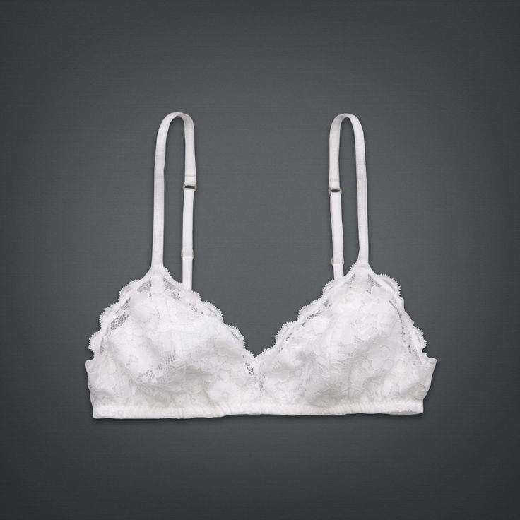 £14.40 Shop All Lace Triangle Bralette | Shop All Bras | uk.GillyHicks.com