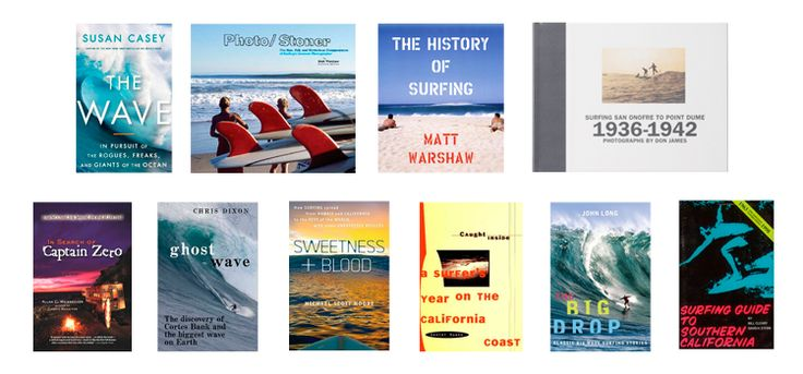 Ten surf books every surfer should own.