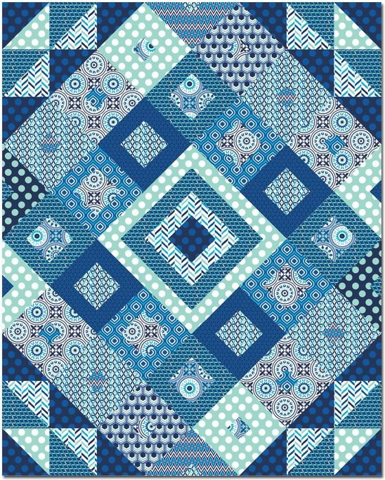 533 Best Images About Quilts Scrappy On Pinterest