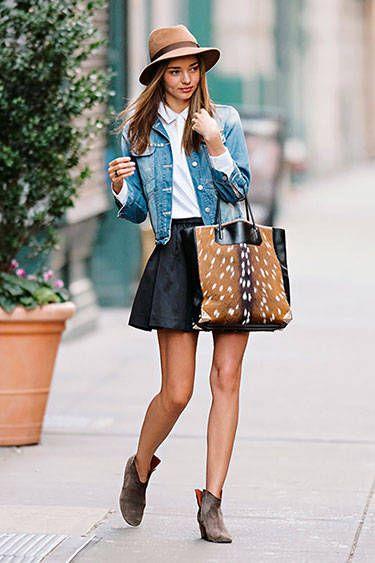 Días más frescos del verano son ideales para abusar de nuestra campera de jean favorita. Un clásico que va con todo en toda época del año.