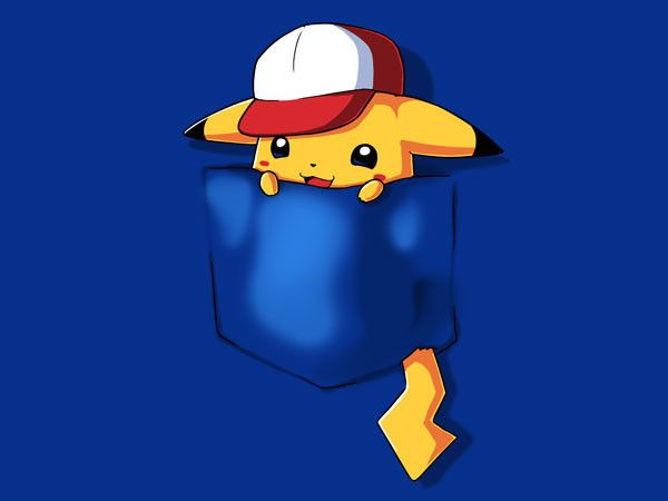 Pocket Monster Pikachu -teeturtle