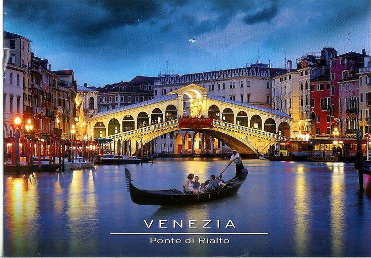 Venezia ~ Ponte di Rialto | ITALY/PLACES TO DREAM | Venice ...