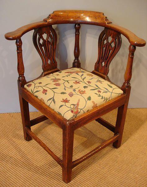 Antique corner chair!!!!!!!!!!!! #cutedeskchair - Antique Corner Chair!!!!!!!!!!!! #cutedeskchair Chaira Half In