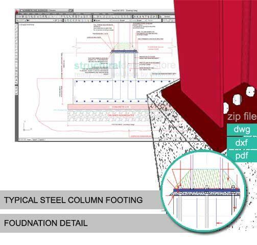Image result for steel frame foundation | structure | Steel