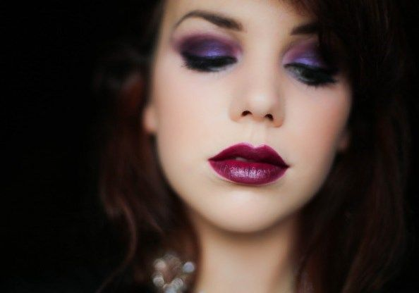 #Labbra scure tendenza #makeup autunno inverno 2013 2014  #bloodylips
