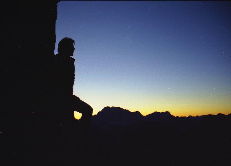 Sunrise in the #Dolomites #dolomitistars