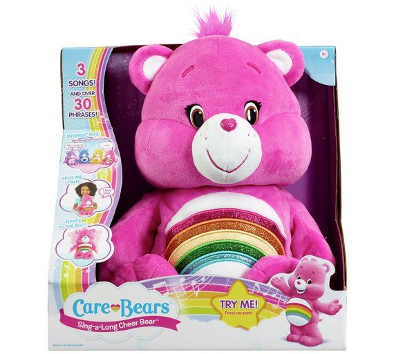 Buy Care Bears Sing-a-Long Cheer Bear at Argos.co.uk - Your Online Shop for Teddy bears and interactive soft toys, Toys.