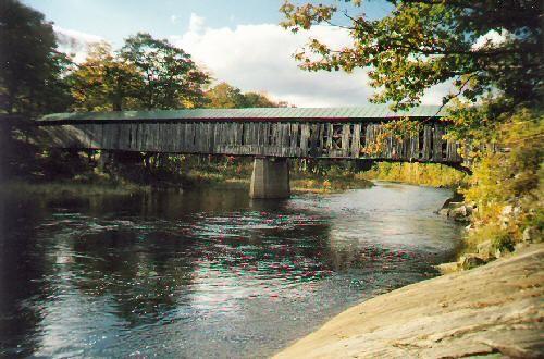 Scott Bridge, VT. We would jump off this bridge...