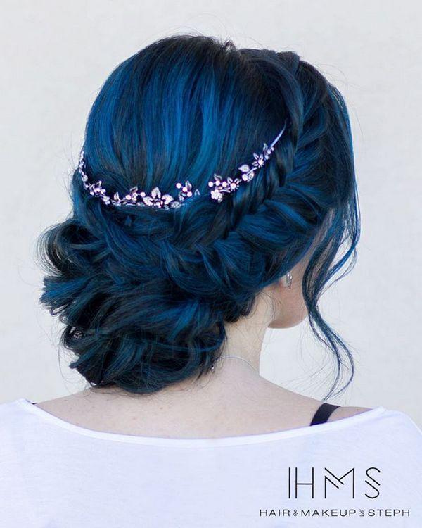 50 Incredible Long Wedding Hairstyles from Hair & Makeup by Steph | Deer Pearl Flowers - Part 4
