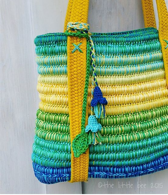 ... Crochet/Knit ::: Bags on Pinterest Crocheted bags, Bags and Crochet