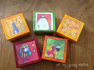 l'arte di Giosy: piccole scatole