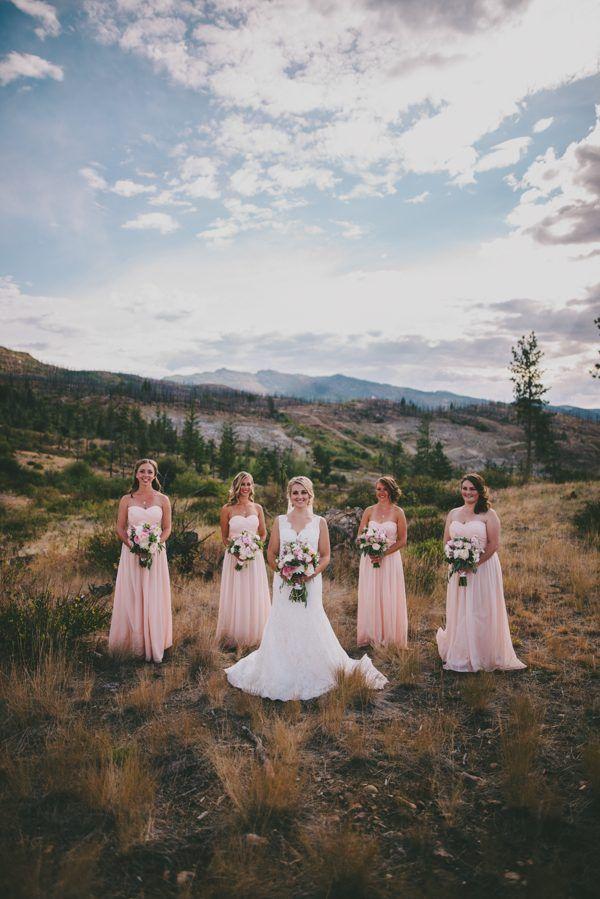 Pastel pink bridesmaid style | Dallas Kolotylo Photography