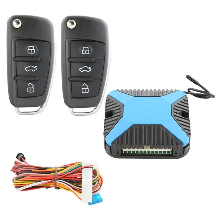 Versión Universal de coche de entrada sin llave sistema de cierre centralizado a distancia apertura del maletero a distancia y ventana de potencia de salida DC12V