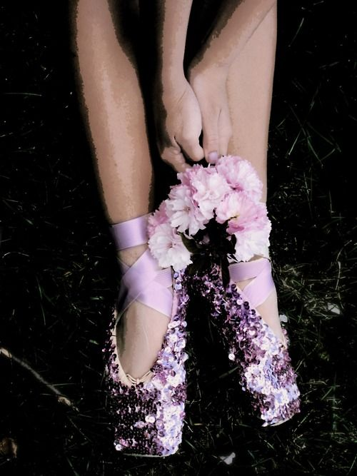 Pretty pointe shoes