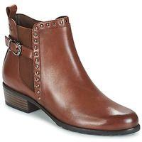 Cipők Női Csizmák Caprice KELLI Barna