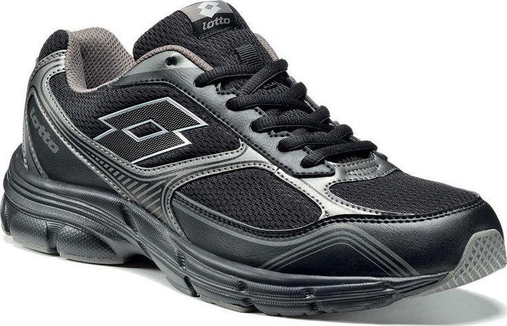 lotto R8457 ANTARES VII Siyah Erkek Yürüyüş Koşu Ayakkabısı
