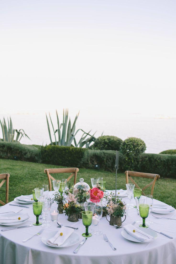 Botanical wedding decoration