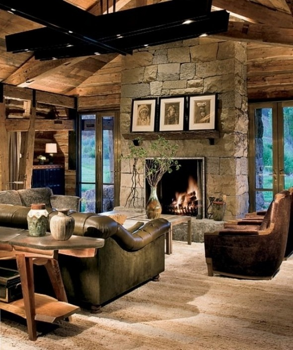 Ordinary Ranch Home Decorating Ideas Part - 13: Traditional Ranch House Design With Rustic Atmosphere · Decorating  IdeasDecor ...