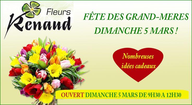 Fleurs Renaud : FETE DES GRANDS MERES
