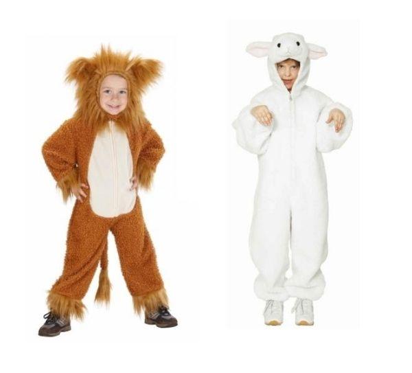 Tiere Löwe lämmchen Faschingskostüme-Artikel Kostümideen kinder ideen