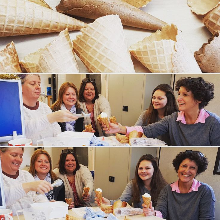 #icecreamcone tasting morning on the farm today with the team @carolinesdairyuk ! It's a hard job .....but someone has to try every morsel before our customers do! #madewithlove #photoftheday #instagood #icecream #icecreamlover #icecreamofinsta #carolinesdairy #carolinesdairyicecream #chichester #parlour #tastetesting #friday #friyay