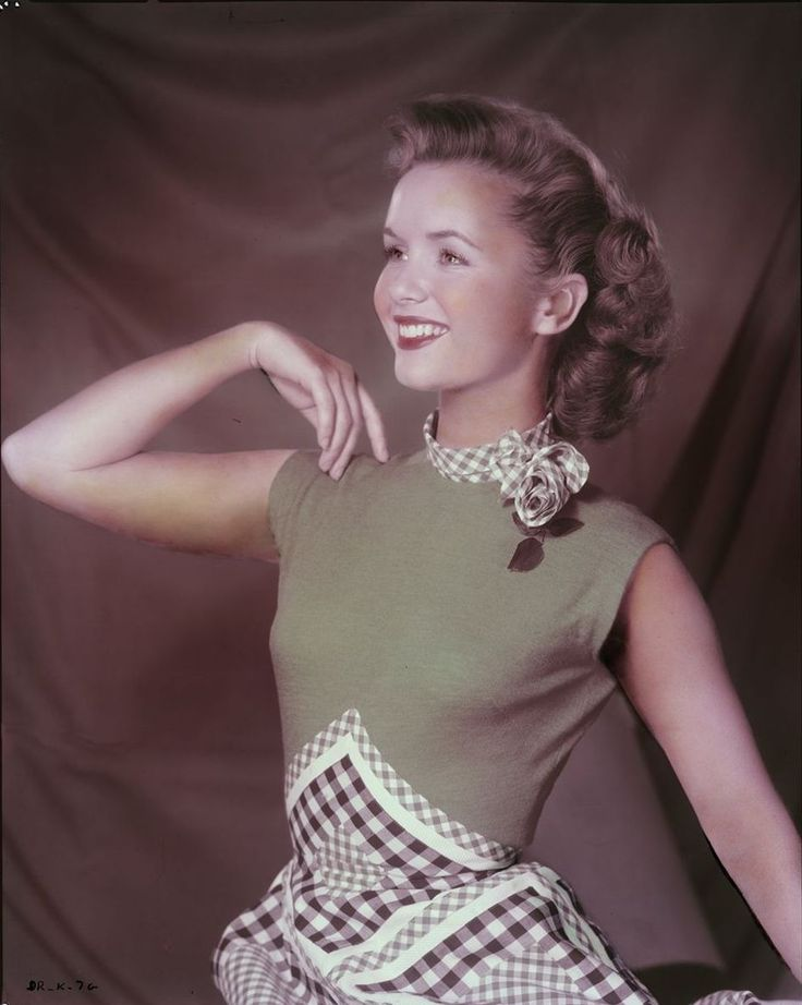 Debbie Reynolds, 1954  Be inspirational  ❥ Mz. Manerz: Being well dressed is a beautiful form of confidence, happiness & politeness