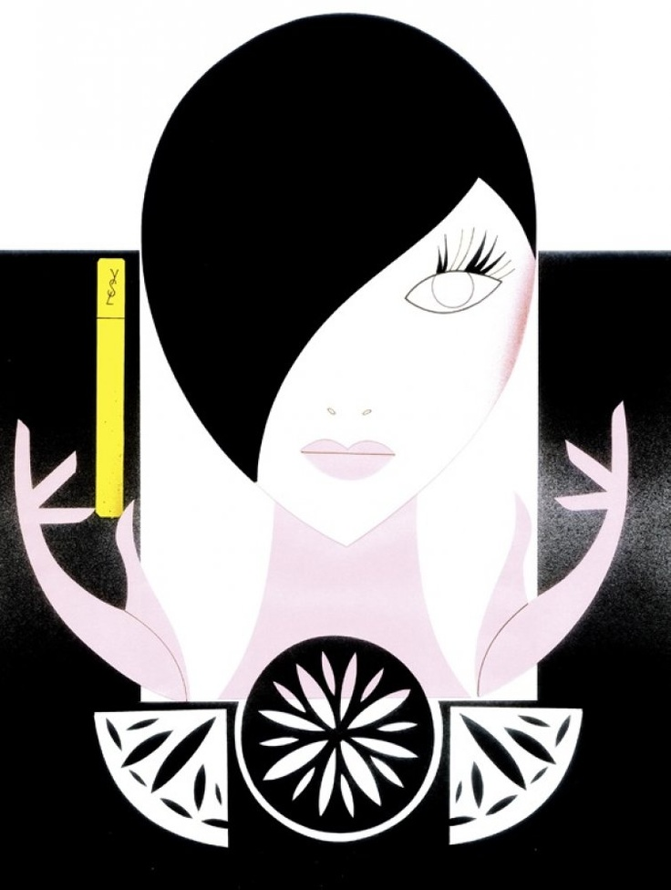 Piet Paris Illustration for YSL