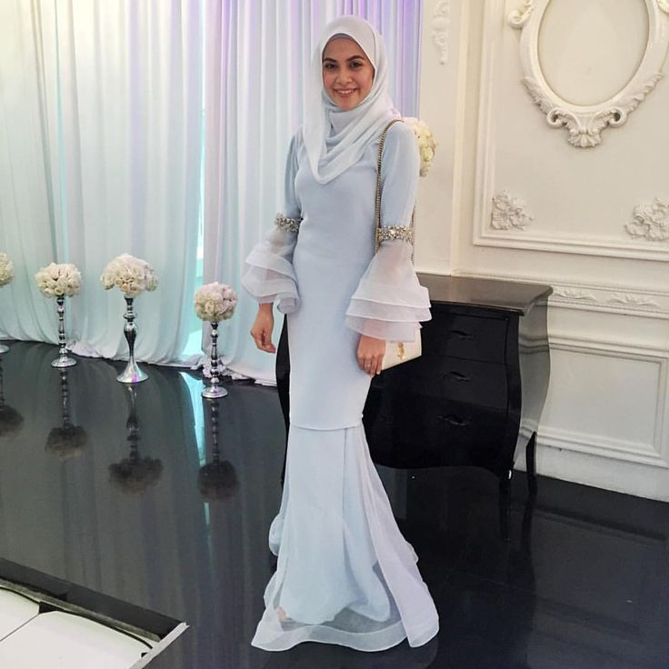 "Ashraff Zainal Atelier on Instagram: ""Thank You Beautiful @_nieshafiz Donning Ice Blue Kurung by #AshraffZainal #Repost @_nieshafiz with @repostapp. ・・・ Thank you for this beautiful piece @ashraffzainal #DianaAzwan"""