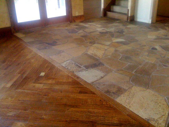 Flagstone Kitchen Floor Tiles