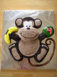 Monkey cake  @Tara Harmon Winsett