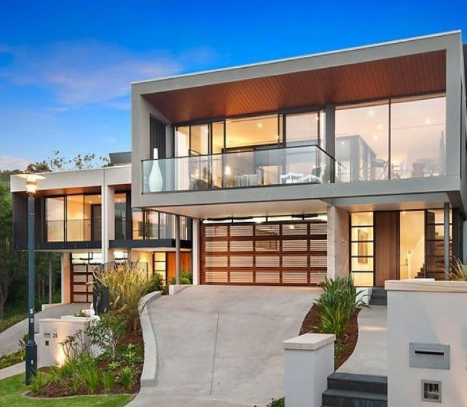 Modern Contemporary House.