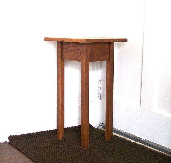 Arts And Crafts Style Limbert Oak Book Stand