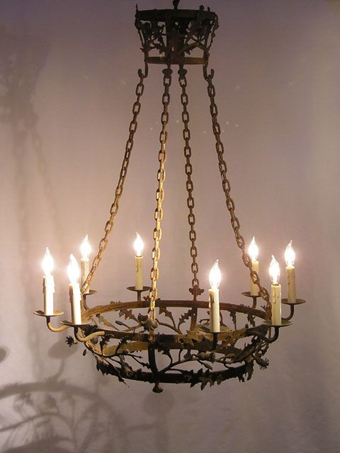 French iron chandelier - 10 Best Antique, Industrial, + French Style Lighting Images On