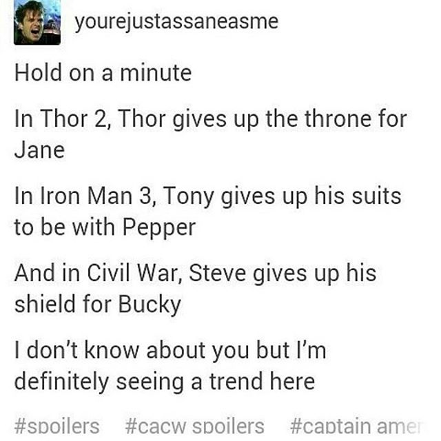 *CACW SPOILER* okay but I have a shit ton of stucky/Bucky posts now wow kill me