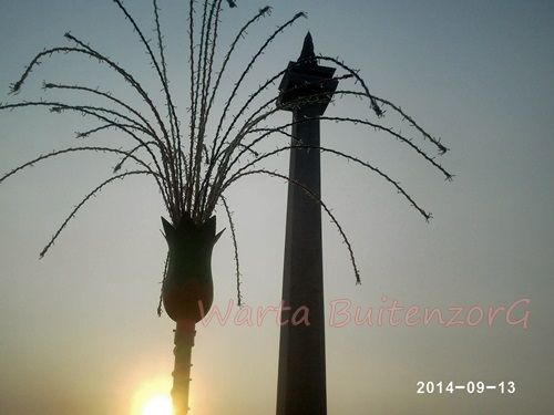Sunset di Tugu Monas 7