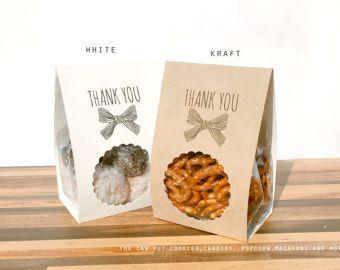 10 personalizzare confezioni regalo imballaggio bande di Kraft