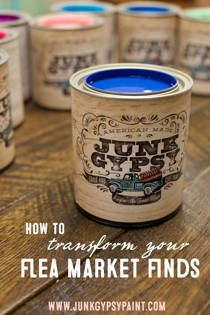 How to paint with Junk Gypsy™ Paint.